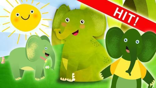 Cztery Słonie, Zielone Słonie