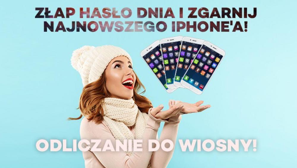 Michał z Chorzowa zgarnął najnowszego IPHONE'A! Wielkie Odliczanie Do Wiosny zakończone!