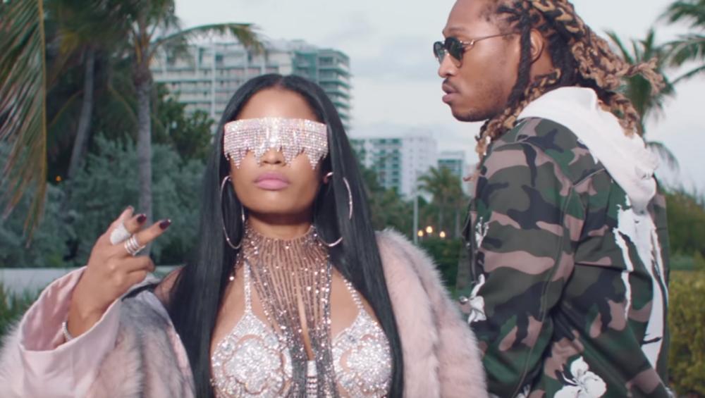Nicki Minaj w najnowszym teledysku rapera Future