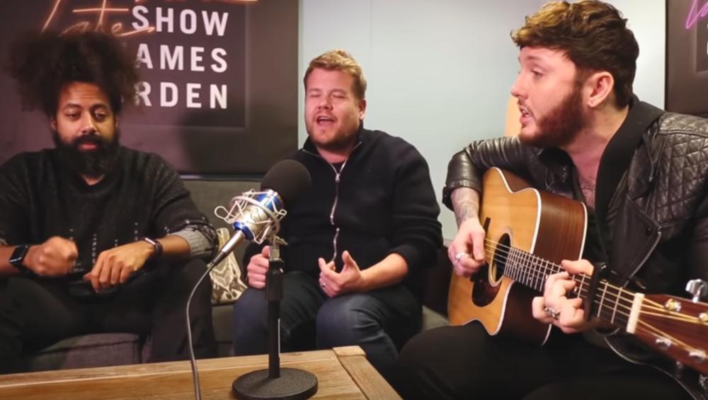 James Corden i James Arthur zaśpiewali razem!