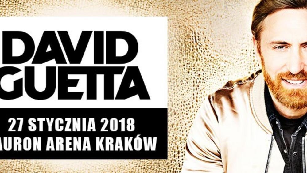 Wielkie show na początek 2018 roku! David Guetta wystąpi w Krakowie!