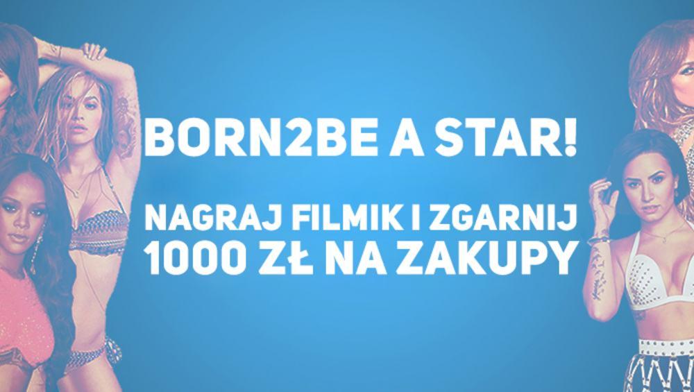 WYGRAJ METAMORFOZĘ ZE STYLISTKĄ 4FUN.TV I 1000 ZŁOTYCH NA ZAKUPY W BORN2BE!