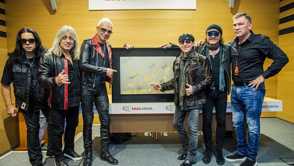 Wielkie serce zespołu Scorpions!
