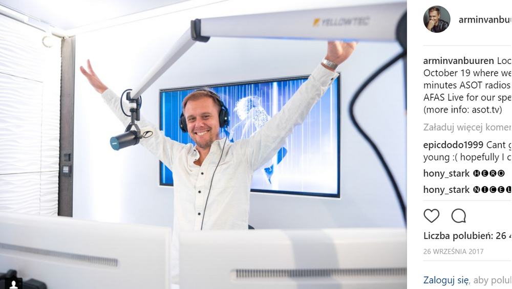 Armin Van Buuren teasuje kolejny singiel! Czekacie na jego nowe kawałki?