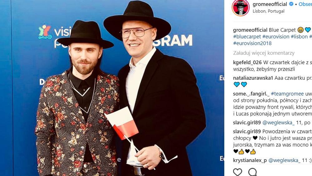 """Gromee dziękuje fanom za wsparcie. """"Gratuluję wszystkim, którzy przeszli do finału"""""""