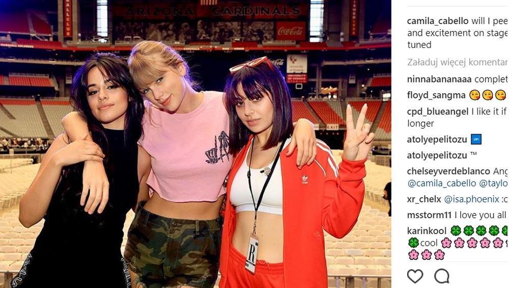 Camila Cabello i Charlie XCX we wspólnej trasie z Taylor Swift