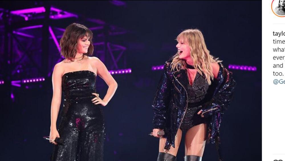 Selena Gomez, Shawn Mendes i Troye Sivan wystąpili na koncercie Taylor Swift! Jak wyszło?