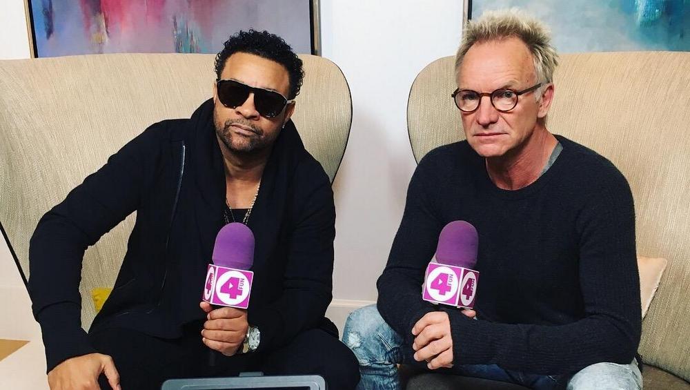 Czy Sting i Shaggy lubią robić sobie selfie? Zobacz WYWIAD!
