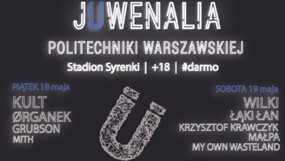 Startują Juwenalia Politechniki Warszawskiej! Zagra m.in. Grubson