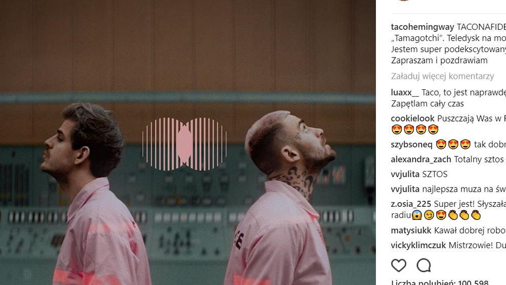 Taconafide z rekordem wyświetleń na Spotify! Pobili Eda Sheerana!