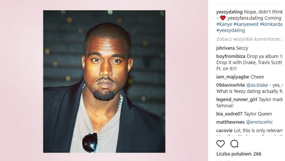 Powstała aplikacja randkowa dla… fanów Kanye'go Westa!