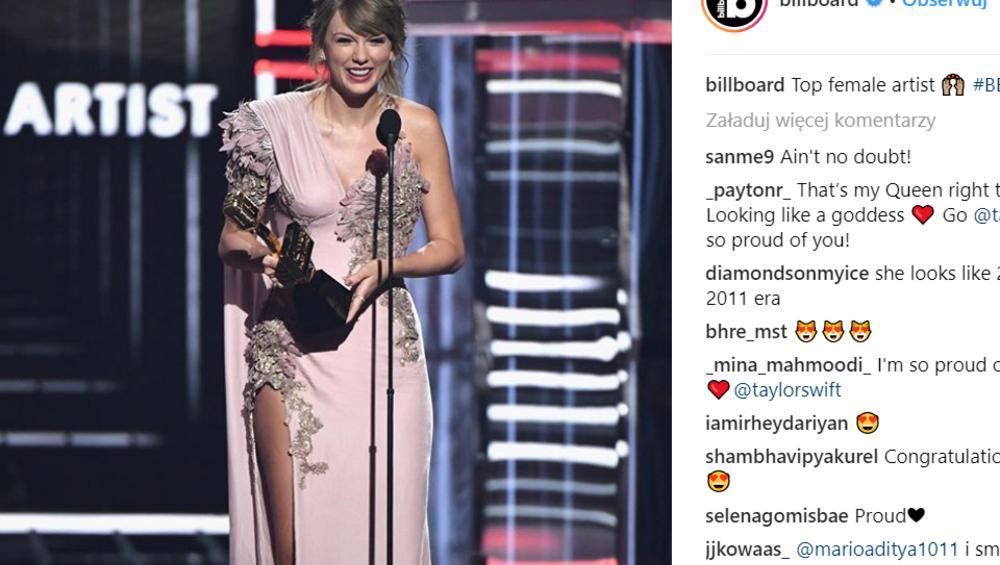Billboard Music Awards 2018: znamy zwycięzców! Wśród wygranych Taylor Swift