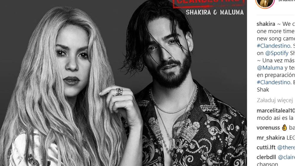 """Shakira i Maluma z nowym latynoskim kawałkiem. Będzie hit na miarę """"Chantaje""""?"""
