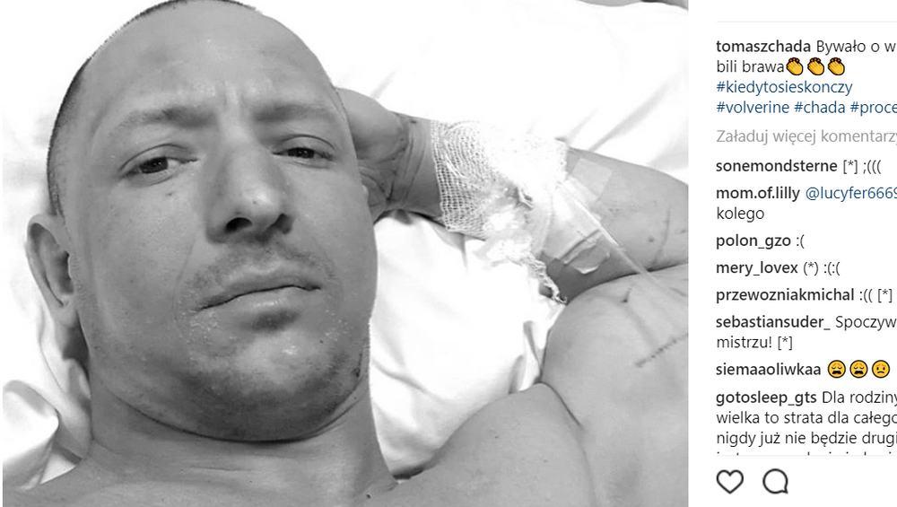 Nie żyje raper Tomasz Chada. Wytwórnia potwierdziła smutną wiadomość