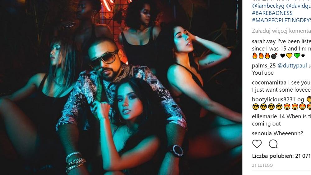 "Sean Paul teasuje klip do ""Mad Love""! Czekacie na ten teledysk?"