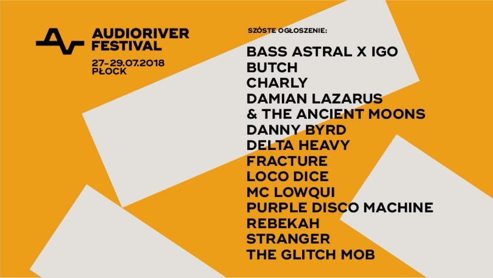 Kolejni artyści na Audioriver. The Glitch Mob i Loco Dice zamykają listę headlinerów