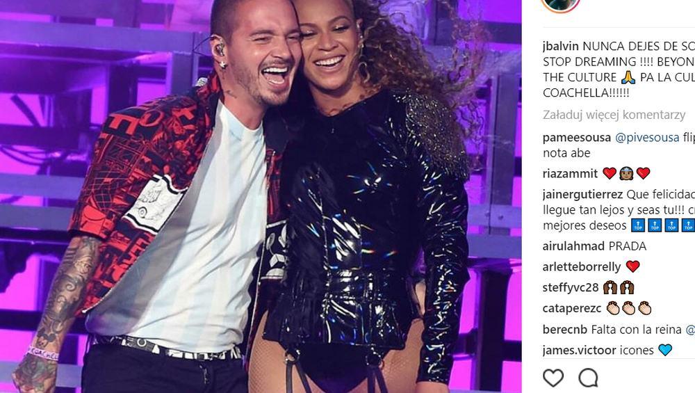 """Mi Gente"": Beyoncé i J Balvin razem na Coachelli!"