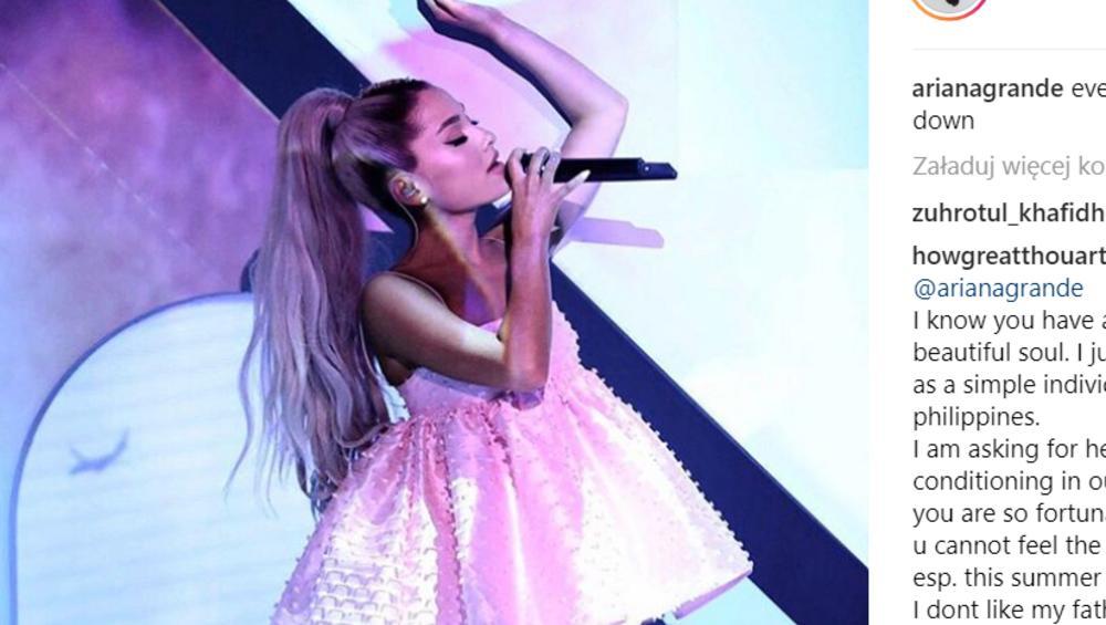 Ariana Grande zaśpiewała podczas koncertu swój najnowszy kawałek! Będzie hit?