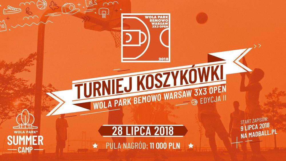 Lato w mieście w Wola Parku – weź udział w turnieju koszykówki!