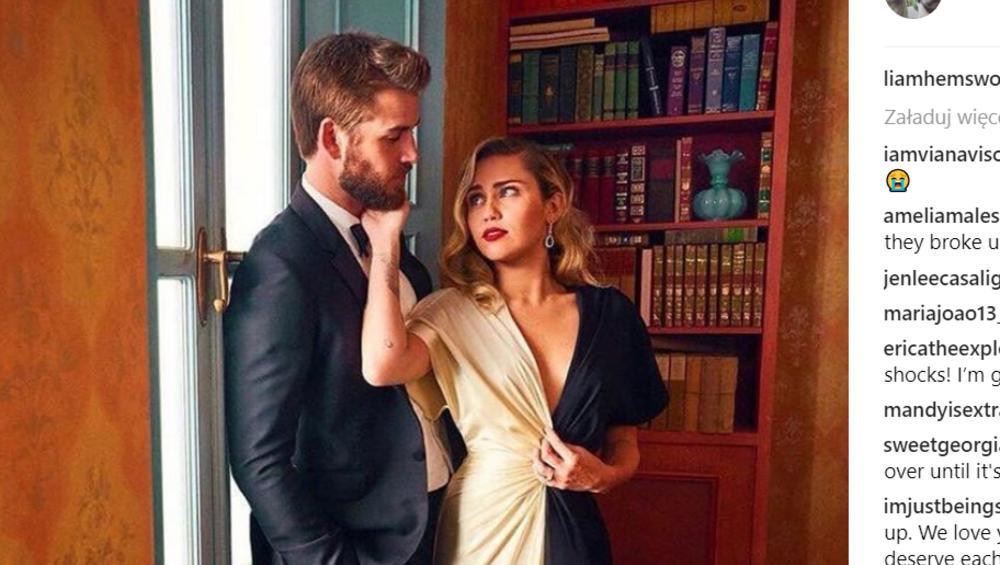 Miley Cyrus i Liam Hemsworth ZERWALI? Plany ślubne nieaktualne