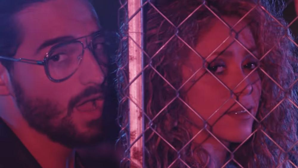 """Shakira i Maluma w gorącym teledysku do """"Clandestino"""""""