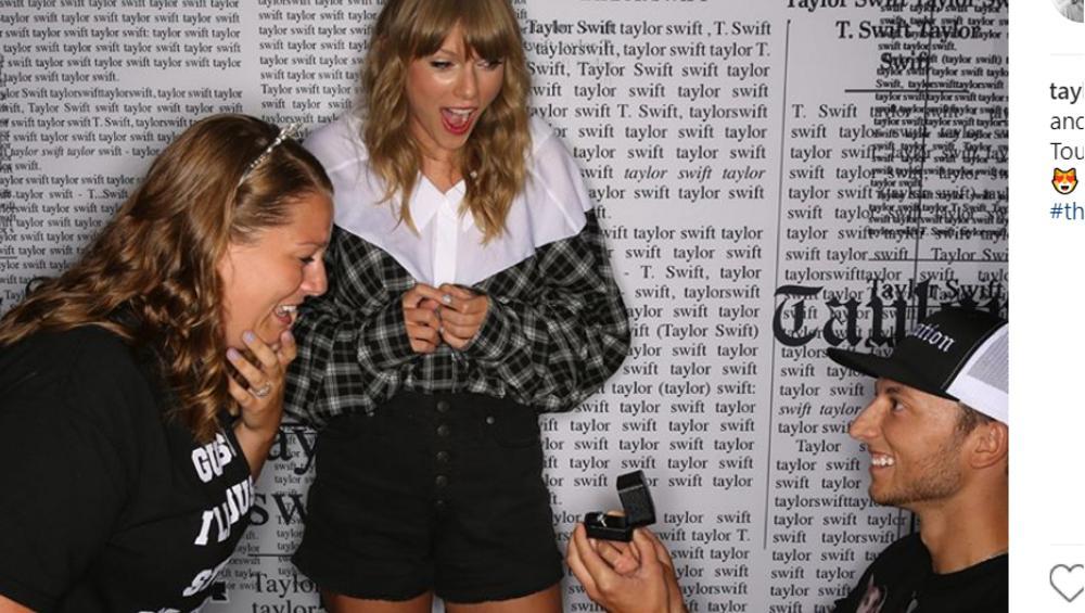 Taylor Swift została SWATKĄ! Para jej fanów weźmie ślub