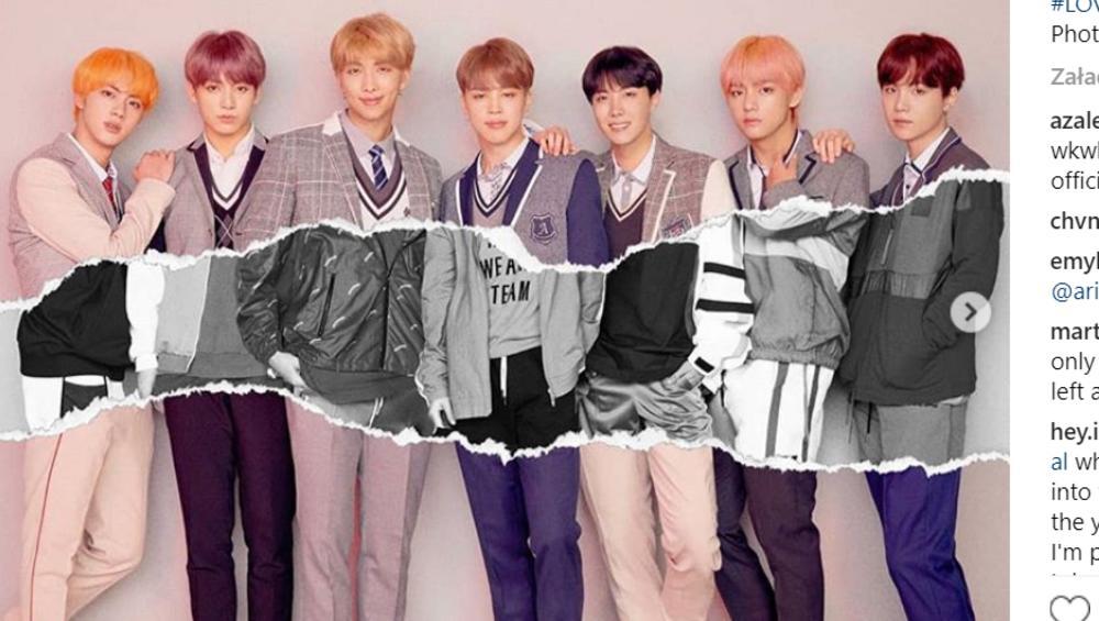 BTS pokazują nowe zdjęcia zapowiadające album Love Yourself: Answer