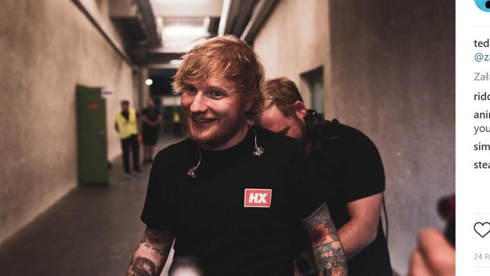 Ed Sheeran ma problem z sąsiadami. Nasłali na niego kontrolę