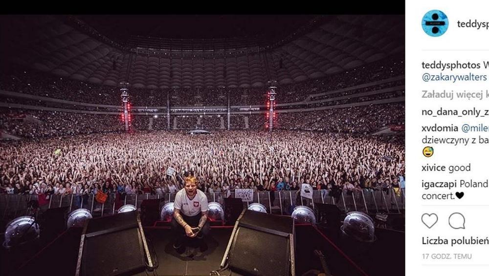 Ed Sheeran w Polsce online - jak oglądać koncert 12.08.2018 na PGE Narodowy?