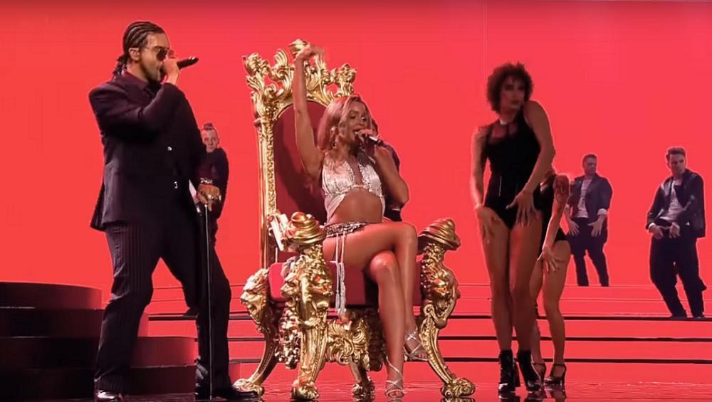 Honorata Skarbek i Boogie z Łobuzów jako Beyonce i Sean Paul. Hit?