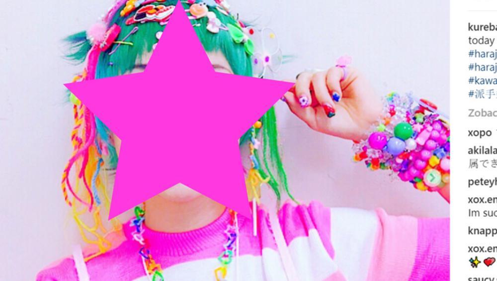 Dziewczyna jak cukierek – nietypowa modelka kreuje modę kolorów. Podoba wam się?