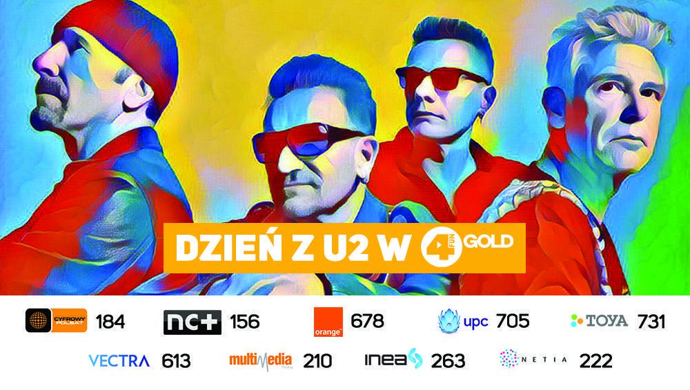 Dzień z U2 w 4FUN Gold