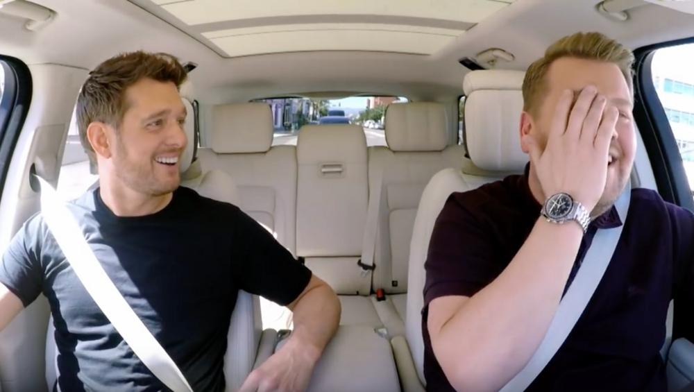 Carpool Karaoke z Michaelem Buble to złoto!