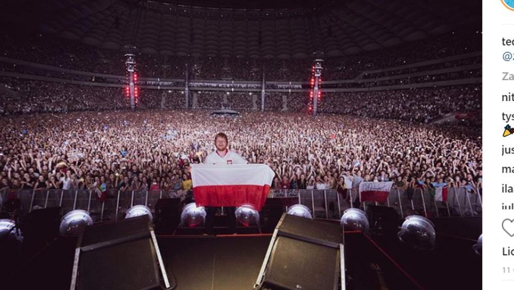Ed Sheeran – takie miał żądania na koncertach w Warszawie. Będziecie zdziwieni!