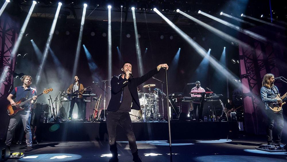 Koncert Maroon 5 z groźnym incydentem! Zawiniła ochrona?