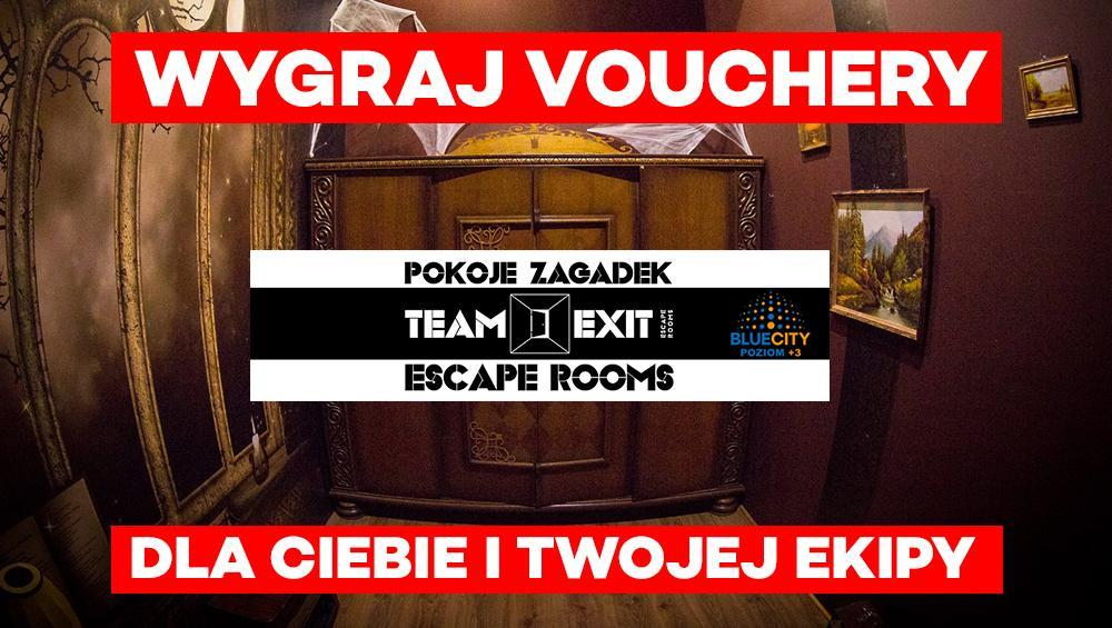 Wygraj vouchery do ESCAPE ROOMU!