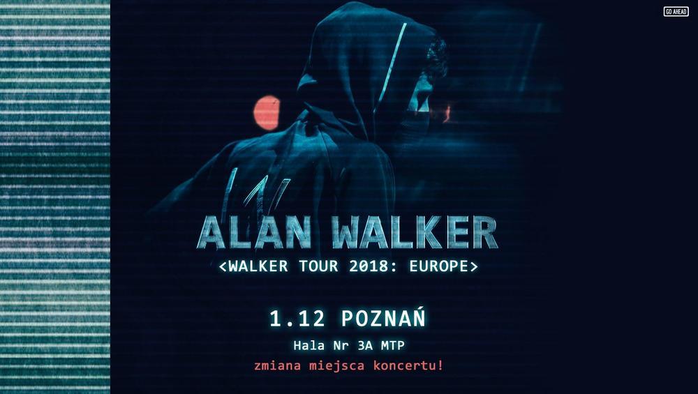 Koncert Alana Walkera w Polsce przeniesiony. Nowe bilety w sprzedaży!