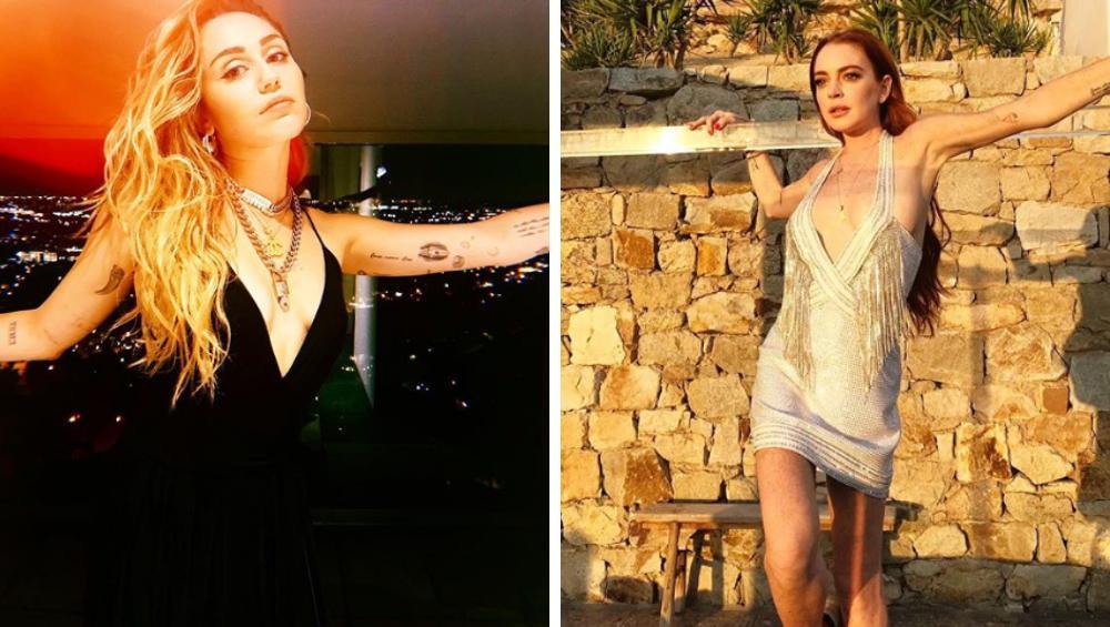 Miley Cyrus i Lindsay Lohan we wspólnym show? To byłby hit