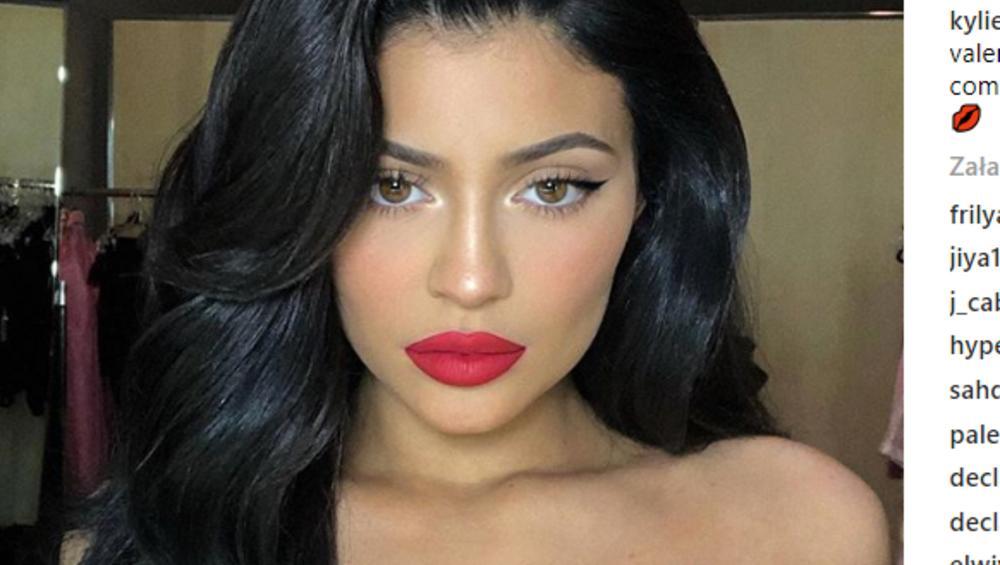 Robot zrobił makijaż Kylie Jenner. Jak wyszło?