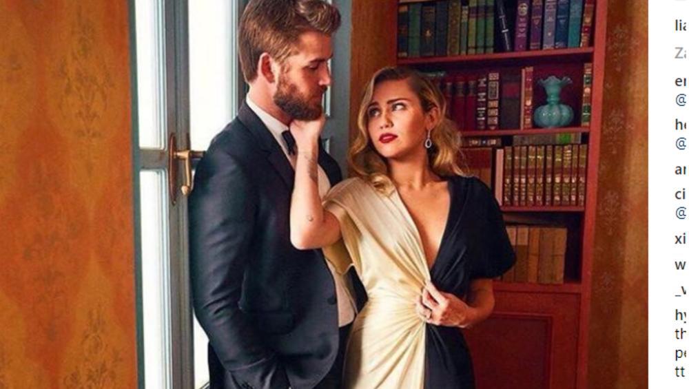 Liam Hemsworth żartuje ze ślubu z Miley Cyrus. Zabawne?