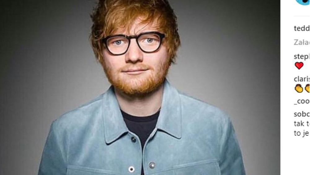 Facebook zablokował filmik Eda Sheerana! Powód zaskakuje