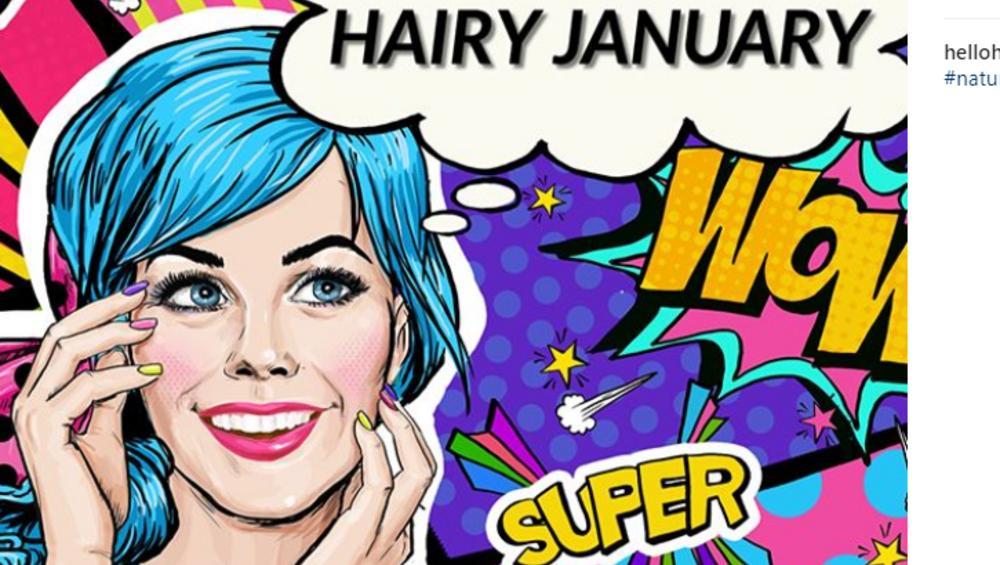 #HairyJanuary, czyli laski nie golą się w styczniu! ZDJĘCIA