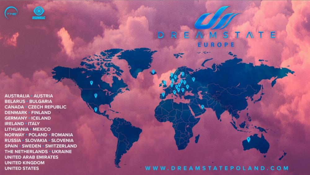 Dreamstate Europe 2019 w POLSCE! [MIEJSCE, BILETY]