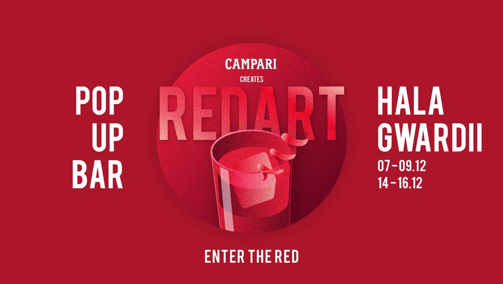 Włoski weekend z Campari w Warszawie. Pop Up Bar w Hali Gwardii