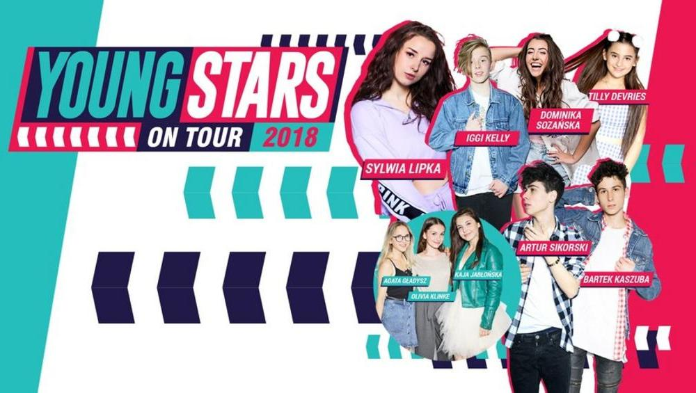 Wygraj bilet na YOUNG STARS on TOUR 2018! [KONKURS]