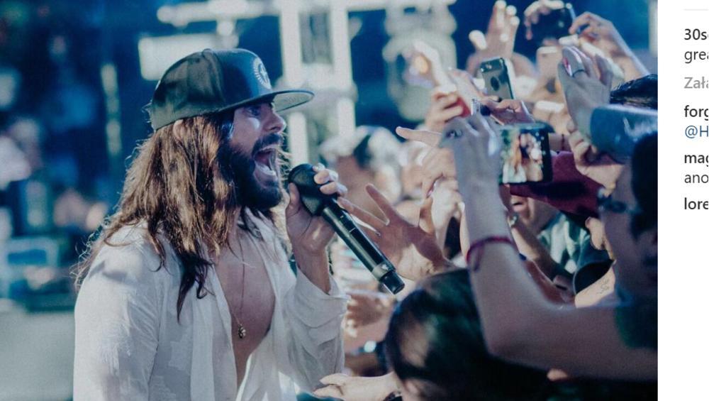 30 Seconds To Mars przerwali koncert. Ochrona była agresywna