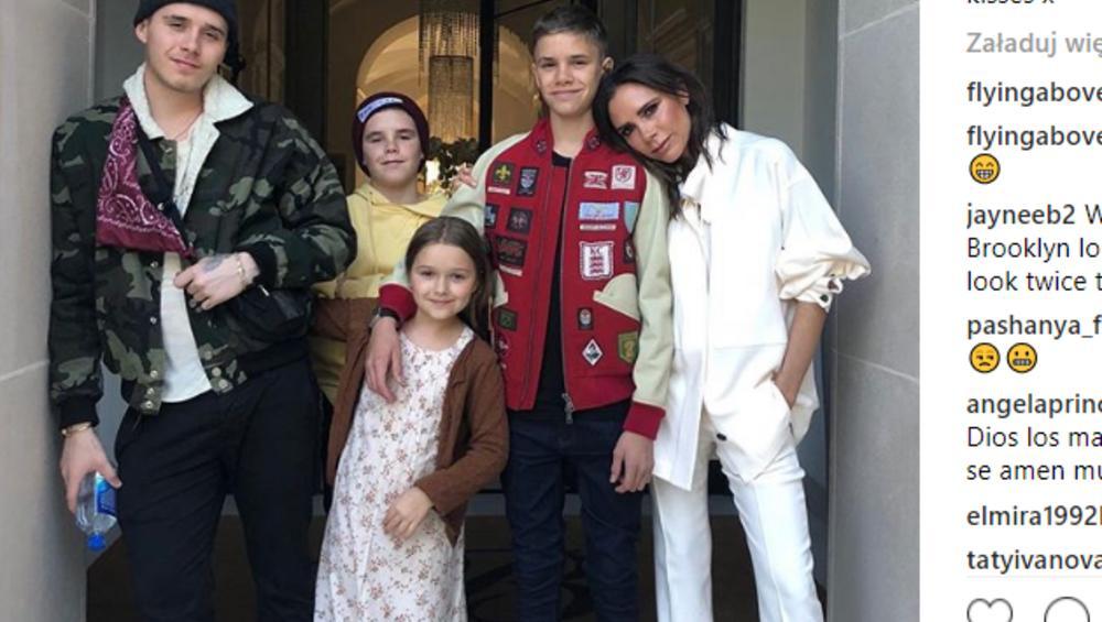 Gwiazda Stranger Things spotyka się z synem Beckhamów?! Victoria jest zachwycona