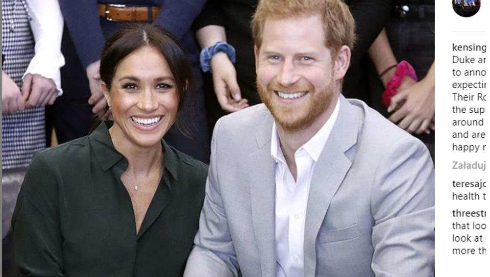Dziecko Harry'ego i Meghan złamie królewską tradycję?! To pomysł księżnej