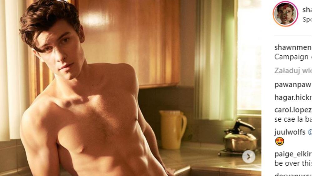 Shawn Mendes ambasadorem bielizny Calvin Klein. Fanki w niebie [FOTO]