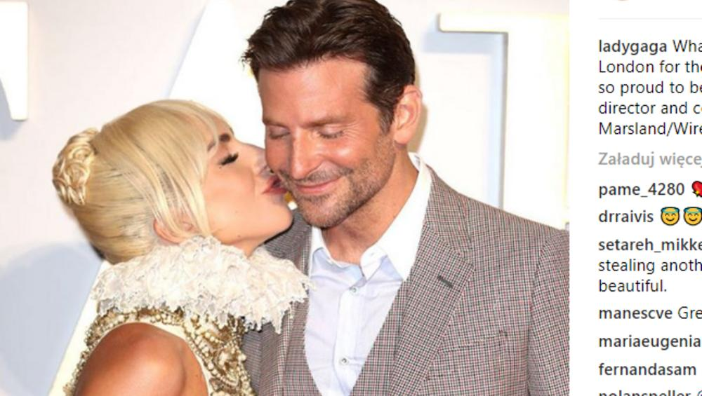 """Lady Gaga + Bradley Cooper? Gaga opowiada dlaczego """"zagrali"""" na Oscarach"""